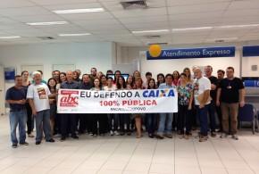 Dia de Luta pela Caixa 100%: confira atividades no Grande ABC nesta sexta, 27