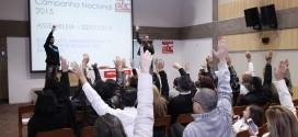 Campanha nacional 2015: assembleia aprova propostas