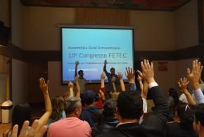 Assembleia elege 18 delegados para o 10º congresso da Fetec