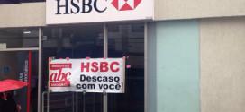 Sindicato paralisa agências do HSBC na Região