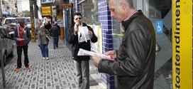 Bancários fazem dia de luta no ABC em defesa   do emprego e contra ameaças do governo Temer