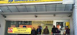 Sindicato fecha agência do Banco do Brasil de São Bernardo por falta de segurança