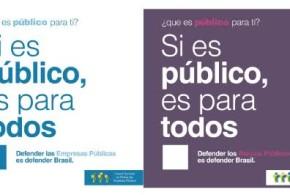 """Campanha """"Se é público, é para todos"""" agora é internacional"""