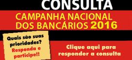 Prazo para responder consulta da Campanha 2016 termina hoje