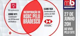 Emprego e direitos dos trabalhadores do HSBC e Bradesco são tema de programa nesta segunda