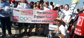 Bancários do ABC protestam contra Bradesco no Rio de Janeiro