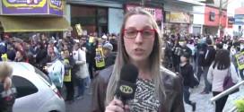 Assista reportagem sobre a passeata dos bancários e entrevista com o presidente da entidade na TV Mais ABC