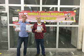 Bancários do ABC participam do Dia Nacional de Luta por emprego e melhores condições de trabalho no Bradesco