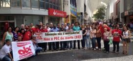 Na luta contra a PEC da morte (55), Sindicato promove aula aberta com docente da UFABC
