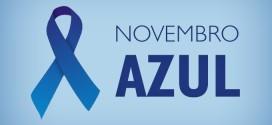 Novembro Azul para alertar sobre o câncer de próstata