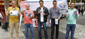 Dia de Luta contra a Aids: Sindicato faz atividade no centro de Santo André