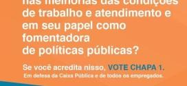 CA da Caixa: Chapa 1 tem mais do que o dobro de votos da concorrente em SP; Grande ABC faz a diferença