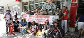 Bancários fazem protesto contra demissões no Bradesco