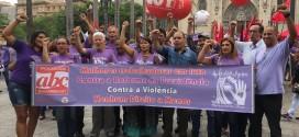 Bancários do ABC participam de Ato no Dia Internacional de Luta da Mulher em São Paulo