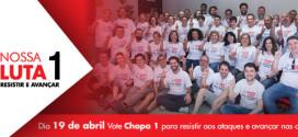 Representantes sindicais do ABC estão na Chapa 1 da Apcef-SP