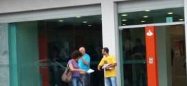 Diretores do Sindicato fazem panfletagem contra as reformas propostas pelo governo golpista