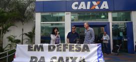 Sindicato realiza ato em defesa dos bancos públicos