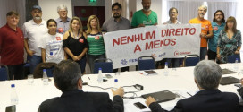 Representantes dos empregados da Caixa se reúnem e dão recado: nenhum direito a menos!