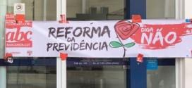 Sindicato faz atividade em Diadema para denunciar reformas e mobilizar para a greve geral