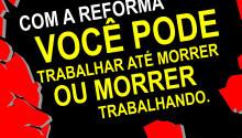 Sindicato leva a São Bernardo atividade para alertar sobre reformas e preparar para a greve geral