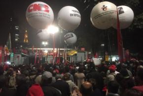 Bancários de todo o Brasil se reúnem em defesa da democracia